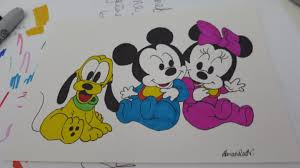 excellent mickey minnie mouse drawings minnie mouse drawing pages