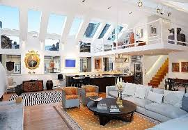 amazing home interior wonderful view in amazing large loft design and interior with high