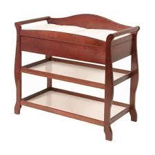 Sleigh Changing Table Sleigh Changing Table With Drawer In Cherry 00524 584
