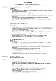sle resume cost accounting managerial approaches to implementing accounting consultant resume sles velvet jobs