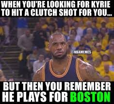 Nba Memes - nba memes on twitter lebron james looking for a clutch player