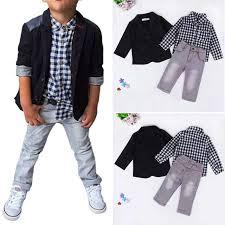 summer baby boys dress suits clothes for gentleman boys children