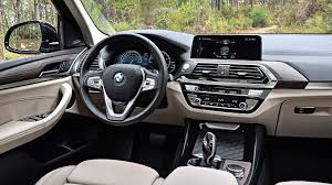 bmw dashboard new bmw x3 2017 first drive third time lucky motoring research