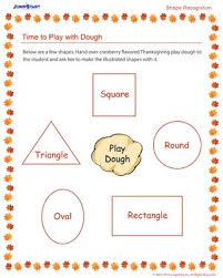 shape recognition worksheet time to play with dough free shape recognition worksheet for
