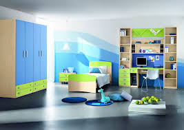 bedroom cool ideas decoration boys themes young beautiful blue