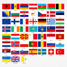 Flags Countries Set Of Flags Of All Countries Of Europe U2014 Stock Vector Panya