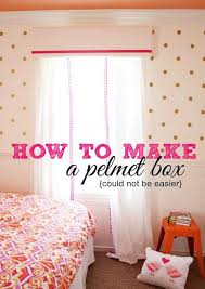 Curtain Box Valance Best 25 Pelmet Box Ideas On Pinterest Box Valance Window
