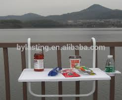 garden patio balcony folding wall hanging bbq table beside side