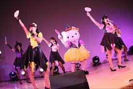 halloween event photo super girls cheeky parade gem take over sanrio puroland