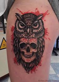 owl skull tattoos designs ideas and meaning tattoos for you