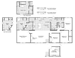 the canyon bay i ft32684a manufactured home floor plan or modular