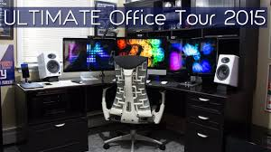 tour of a geek u0027s home office 2015 youtube