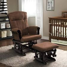 Glider Rocking Chairs For Nursery Outstanding Swivel Glider And Ottoman Set Taptotrip Me