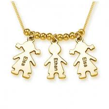 engraved charms s necklace with engraved children charms