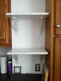 kitchen simple diy wall mount kitchen shelves ideas for recepy