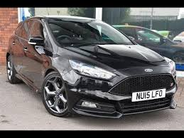 used ford focus tdci used ford focus 2 0 tdci 185 st 2 5dr panther black 2015