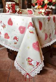 Oblong Table Cloth Decoration Lenox Holiday Table Linens Ivory Jacquard Damask With