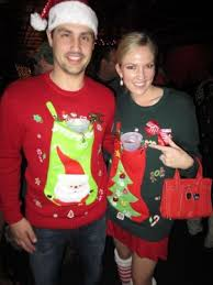 what to wear to your ugly christmas sweater party society19