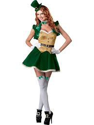lucky lass lady leprechaun costume set leprechaun costume