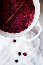cinnamon cranberry sauce oh so delicioso