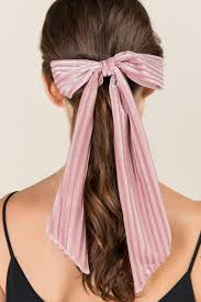 bow hair maverick velvet bow hair tie s