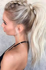Cute Sporty Hairstyles Wear These 36 Sporty Ponytail Hairstyles To The Gym Sporty