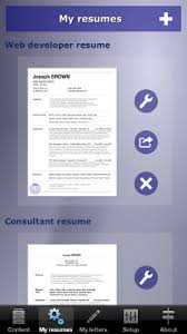 Make Your Resume How To Make Your Resume Cv With Your Iphone Ipad Or Android