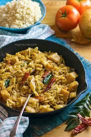 chou cuisine mauritian style sautéed cabbage with potatoes touffer lichou