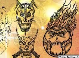 tribal tattoo designs vector u0026 photoshop brushes stock graphic