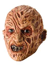 Ms Krueger Halloween Costume Freddy Krueger Scary Vinyl Mask