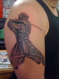 ninja tattoo by blackraintattoos on deviantart