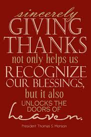Thanksgiving Quotes Lds Capital B Thanksgiving Printable