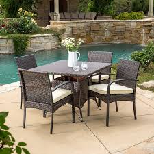 Small Patio Dining Sets Wicker Patio Dining Sets Beachfront Decor