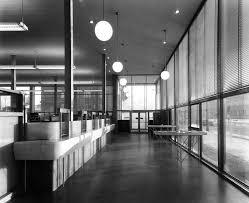 bureau de poste montr l bureau de poste ville mont royal 1955 a49montreal