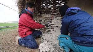 How To Build A Stone by How To Build A Stone Age House Youtube