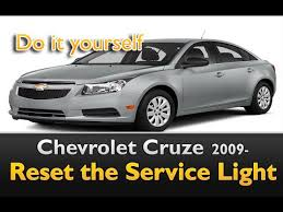 chevy cruze warning lights chevy cruze service light reset with multifunction display youtube
