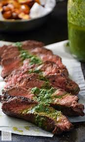 What Is A Patio Steak Pan Seared Steak With Chimichurri Weekdaysupper Life Tastes Good
