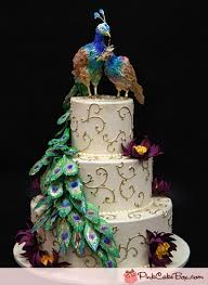 peacock wedding peacock wedding cake wedding cakes