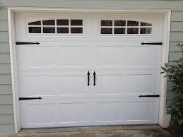 Garage Door Deluxe Decorative Hardware Kit Hinges & Handles