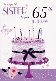 template 65th birthday cards female together with 65th birthday