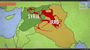 Map Of Syria And Surrounding Countries by Tel Aviv Notes Blurring The Borders Of Conflict Isis Between