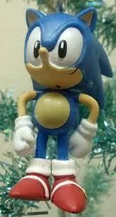 sonic the hedgehog set of 7 tree ornaments