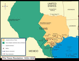 Texas And Mexico Map by Tommy Wenince U0027s Life Mexican War And The Texas Revolution