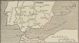madrid spain map civil war maps modern records centre of warwick