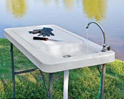 Fish And Game Table Lovable Folding Table With Sink With Sportsman Series Folding Fish