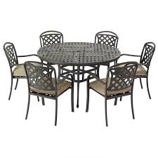 Round Garden Table With Lazy Susan by Paris 6 Seater Round Rattan Dining Set 7 Images Texas 6 Seat