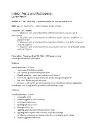 Garden Pests Identification - lesson plan for pest and pathogens final 2 pesticide gardens