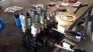 backhoe hydraulic valve youtube