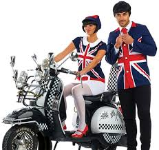 couples 60s mods fancy dress costume fancy me limited