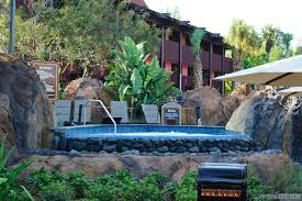 new polynesian village resort lava pool area photo 7 of 9